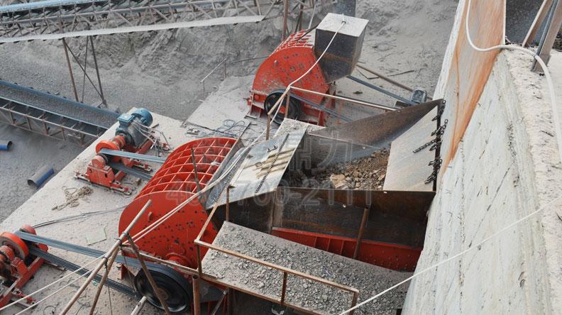 时产600吨河南禹州石料生产线
