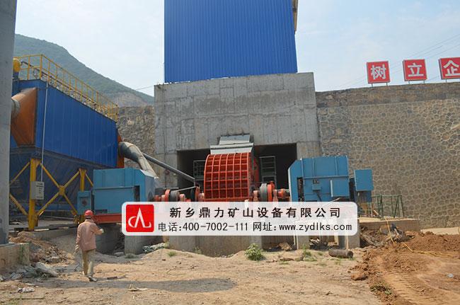 河南省登封市嵩基(集团)有限公司时产2000吨骨料生产线