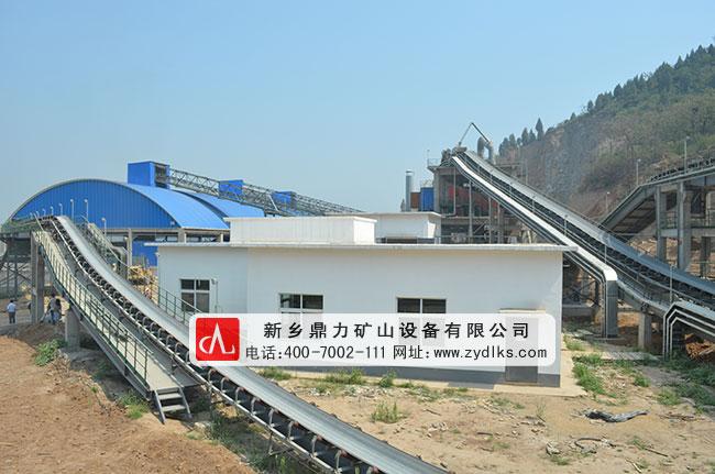 河南安阳中联时产2500吨石料破碎生产线