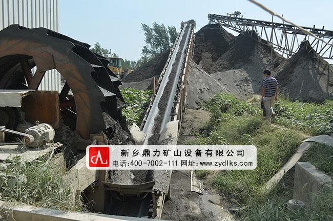 河南新乡卫辉制砂生产线现场案例