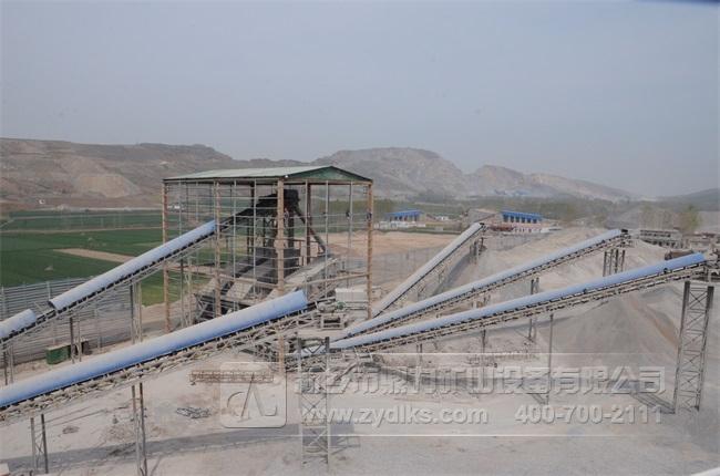 驻马店恒强矿业时产3000吨砂石骨料生产线