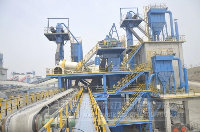 安阳中联时产200-250吨制砂楼生产线