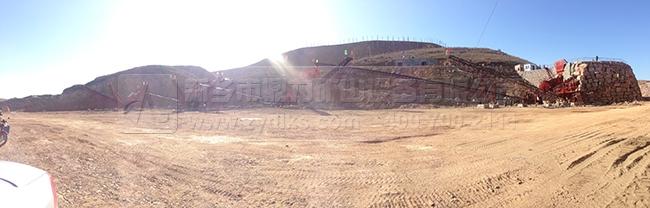 平顶山宝丰永顺铝土时产500吨骨料生产线