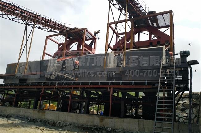 驻马店时产5000吨石料生产线_日产5万吨制砂生产线现场图片-2