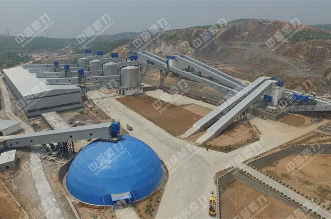 智能环保砂石骨料生产线_日产3万吨砂石骨料生产线_卫辉市天然资源有限公司现场图片-3