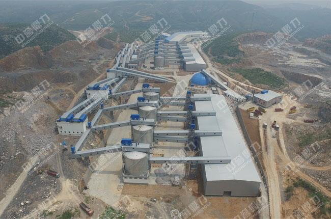 智能环保砂石骨料生产线_日产3万吨砂石骨料生产线_卫辉市天然资源有限公司现场图片-4