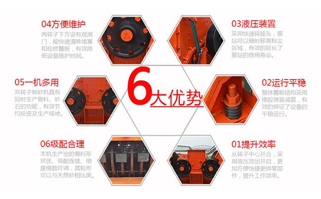 ZSJ型双转子制砂整形机六大优势