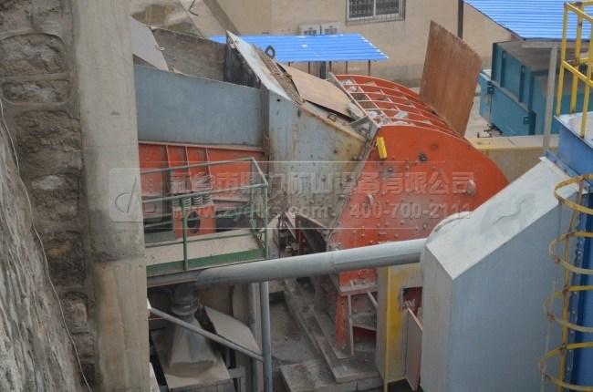 登封嵩基日产1万吨砂石骨料生产线