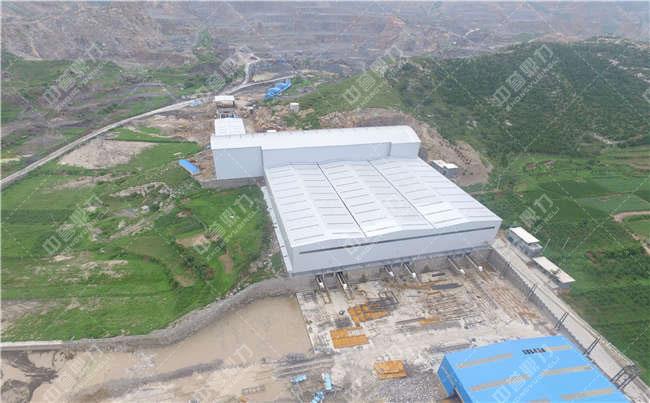 河北省武安市白沙时产3000吨石子生产线