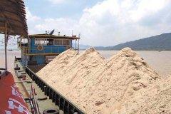 岩石制砂生产线